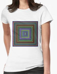 Colors, Colors, Colors!  Womens Fitted T-Shirt