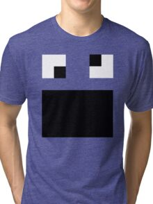 Creature Nova Minecraft Cookie Monster Tri-blend T-Shirt