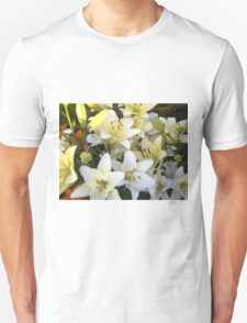 White Lily in the garden 8 T-Shirt