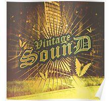 Vintage Sound Poster