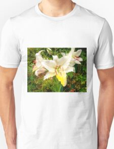 White Lily in the garden 9 T-Shirt