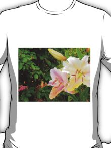 White Lily in the garden 10 T-Shirt