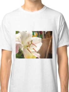 White Lily in the garden 11 Classic T-Shirt