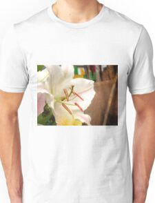 White Lily in the garden 11 Unisex T-Shirt