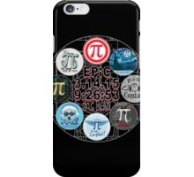 Ultimate Memorial for Epic Pi Day  iPhone Case/Skin
