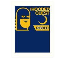 The Hooded Guest Condoms Art Print