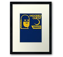 The Hooded Guest Condoms Framed Print