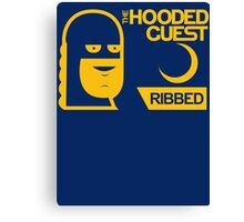 The Hooded Guest Condoms Canvas Print