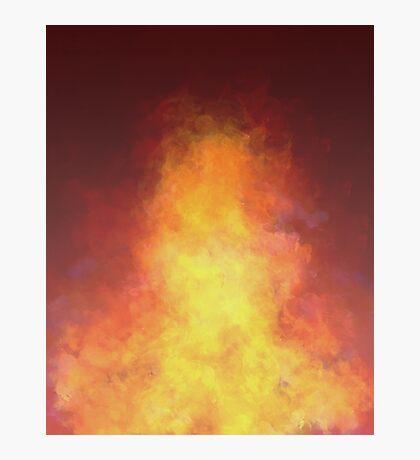Flame Photographic Print