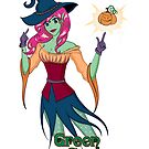 Green Corner Witch by Emily Gonsalves