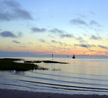 Rock Harbor Sunset by Sunshinesmile83