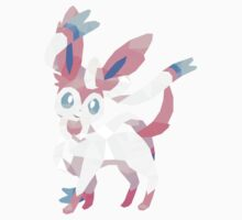 Sylveon Low Poly Kids Clothes