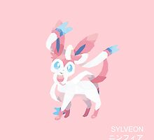 Sylveon Low Poly by meowzilla