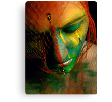 Rainbowface Canvas Print