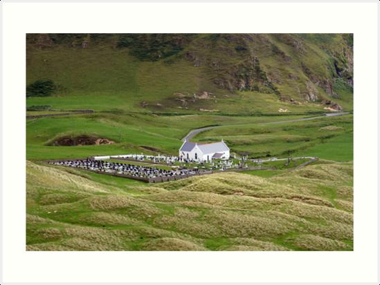 Lagg church view by John Quinn