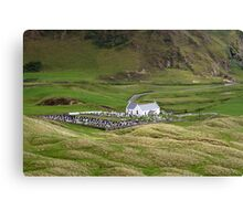 Lagg church view Canvas Print