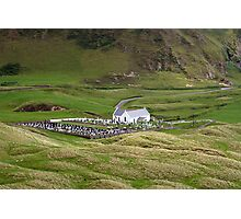 Lagg church view Photographic Print