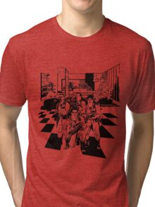 Busting Ghosts (Redada Fantasma) Tri-blend T-Shirt