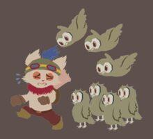God Damn Owls Teemo Art T-Shirt
