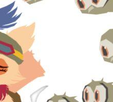 God Damn Owls Teemo Art Sticker