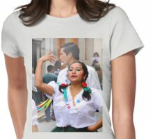 Dancing For Jesus' Birthday Womens Fitted T-Shirt
