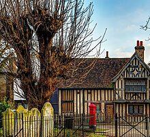 Half timbered house by jasminewang