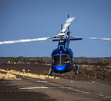 Helicopter Takeoff by Michael Petersen
