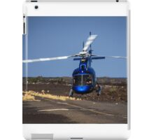 Helicopter Takeoff iPad Case/Skin