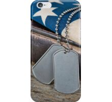 God and Country iPhone Case/Skin