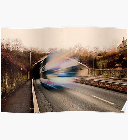Speedy Bus Poster