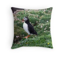 My Puffin Throw Pillow