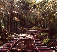 Into the Shadows... by Lynn  Abbott