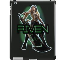 Redeemed Riven iPad Case/Skin