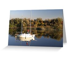 Boat on The Delta Greeting Card