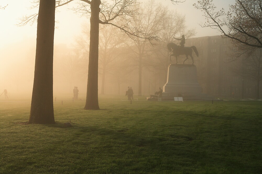 West Point on Sandhurst Morning by Kyle Jerichow