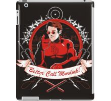 BETTER CALL MURDOCK iPad Case/Skin