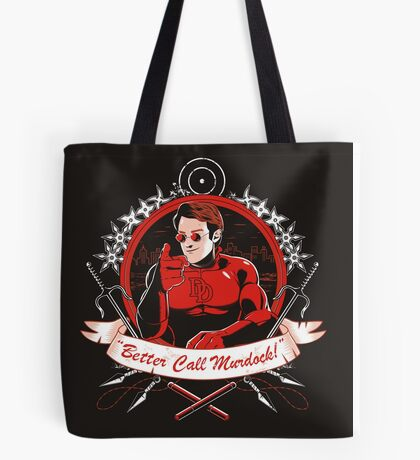 BETTER CALL MURDOCK Tote Bag