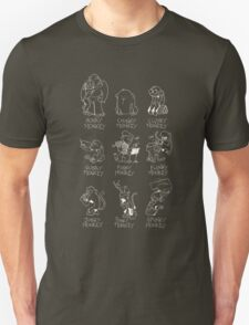 Rhyming Monkey Chart T-Shirt