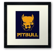 pitbull Framed Print