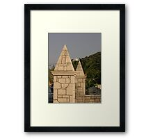 Pillars of the Community Framed Print