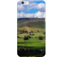 A line through the valley iPhone Case/Skin