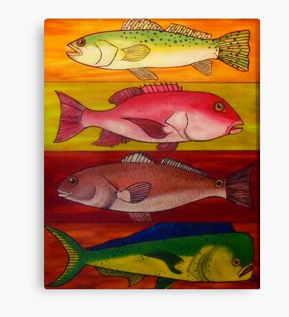 4 Fin Special Canvas Print