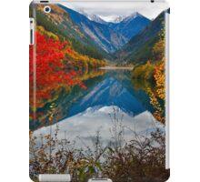 Autumn in Mirror Lake, Jiuzhaigou 秋临九寨沟 iPad Case/Skin