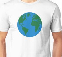 Globe Earth World map Unisex T-Shirt