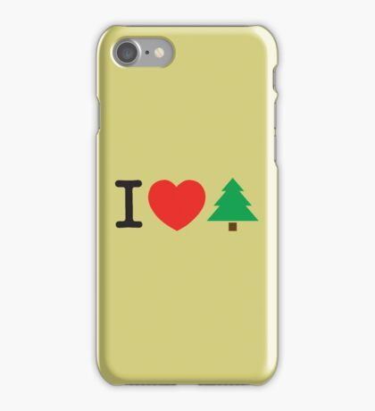 I Love Tree iPhone Case/Skin