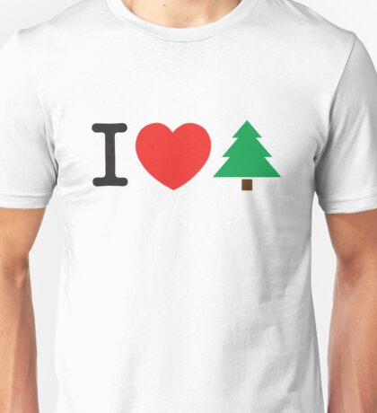 I Love Tree Unisex T-Shirt