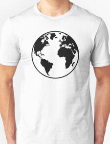 Globe Earth World T-Shirt