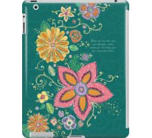 Lesson from Nature iPad Case/Skin