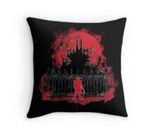 What a Horrible Night to Have a Curse Throw Pillow