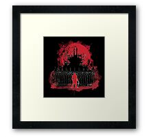 What a Horrible Night to Have a Curse Framed Print